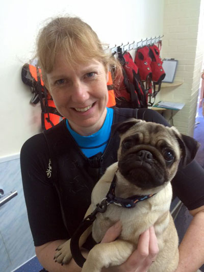Heidi at 4 Paws Hydrotherapy Centre Ringwood